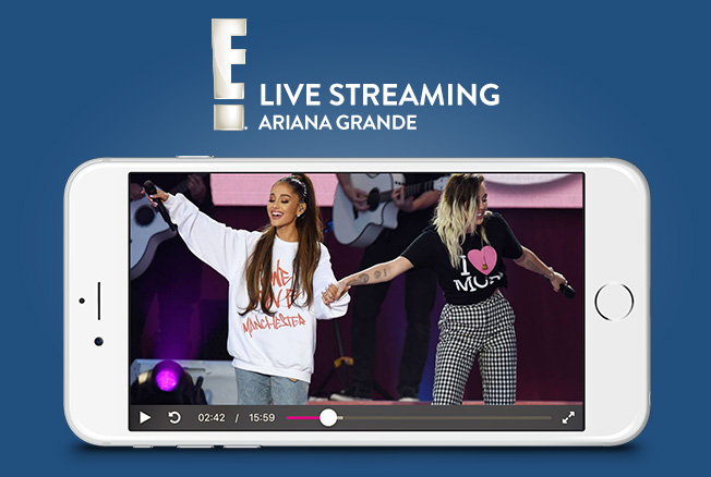 Ariana Grande Live Streaming - E! entertainment